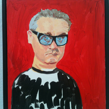 Great little portrait at the Summer Exhibition