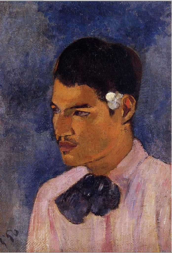Gauguin Portrait of a young man