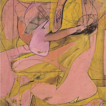 Metamorphosis in Willem de Kooning's Angels