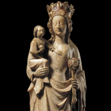 Madonna carved in the midlands